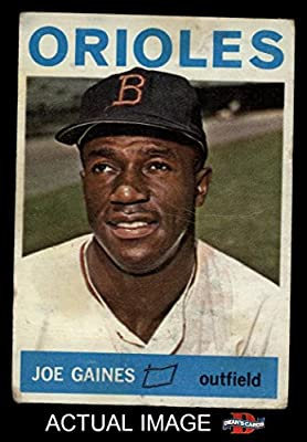1964 Topps # 364 Joe Gaines Baltimore Orioles (Baseball Card) Dean's Cards 1.5 - FAIR