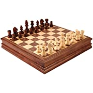 Catherine Chess Inlaid Wood Board Gam…