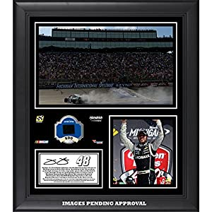 Jimmie Johnson 2014 Quicken Loans 400 at Michigan International Speedway Race Winner... by Sports Memorabilia