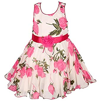 Wish Karo Party wear Baby Girls Frock Dress DN85PS Amazon