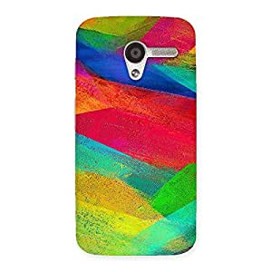 Colors Fly Back Case Cover for Moto X