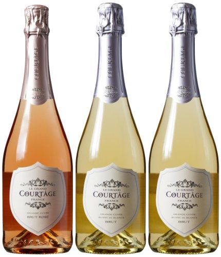 Le Grand Courtage French Sparkling Mixed Pack, 3 x 750 mL image