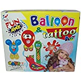 Parteet Balloon & Tattoo Art And Fun Game For Kids
