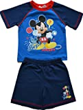 Boys Mickey Mouse Shortie Pyjamas Age 12 Months to 4 Years