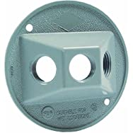 Hubbell 5997-0 Do it Weatherproof Electrical Cover-GRAY OUTDOOR RND COVER