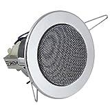 Omnitronic CS-2.5C Ceiling Speaker - Silver