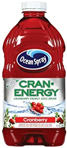 Ocean Spray Cran Energy Cranberry Lift, 64-Ounce Bottles (Pack of 8)