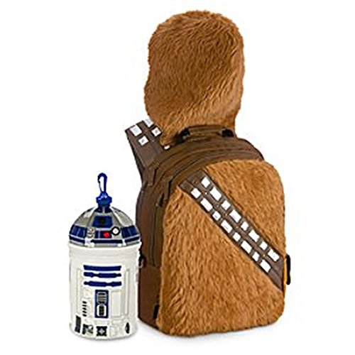 Disney Store Star Wars Chewbacca Backpack & R2-D2 Lunch Tote