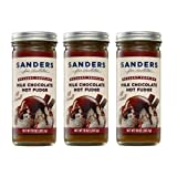 Sanders Original Dessert Topping Milk Chocolate Hot Fudge 10 Oz (Pack of 3)