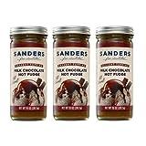 Sanders Original Dessert Topping Milk Chocolate Hot Fudge 10 Oz (Pack of 3)