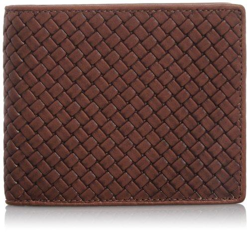 [ミズノ] MIZUNO 二つ折り財布(型押し)