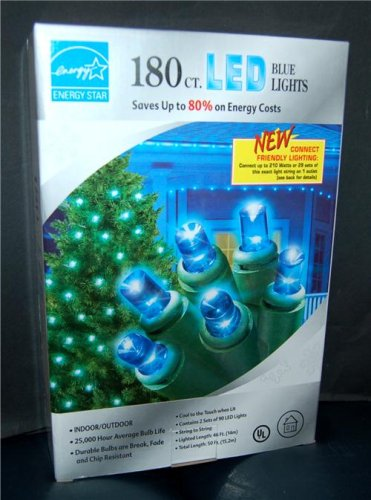 ... Christmas LED Blue Holiday Lights - Saves Up to 80% on Energy Costs