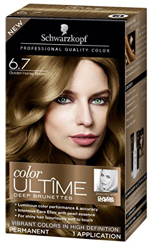 Schwarzkopf Ultime Hair Color Cream, 6.7 Golden Honey Brown, 2.03 Ounce (Golden Red Hair Dye compare prices)
