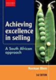 img - for Achieving Excellence in Selling: A South African Approach book / textbook / text book