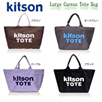KITSON★キットソン★Large Canvas Tote Bag ★ラージキャンバストートバッグ