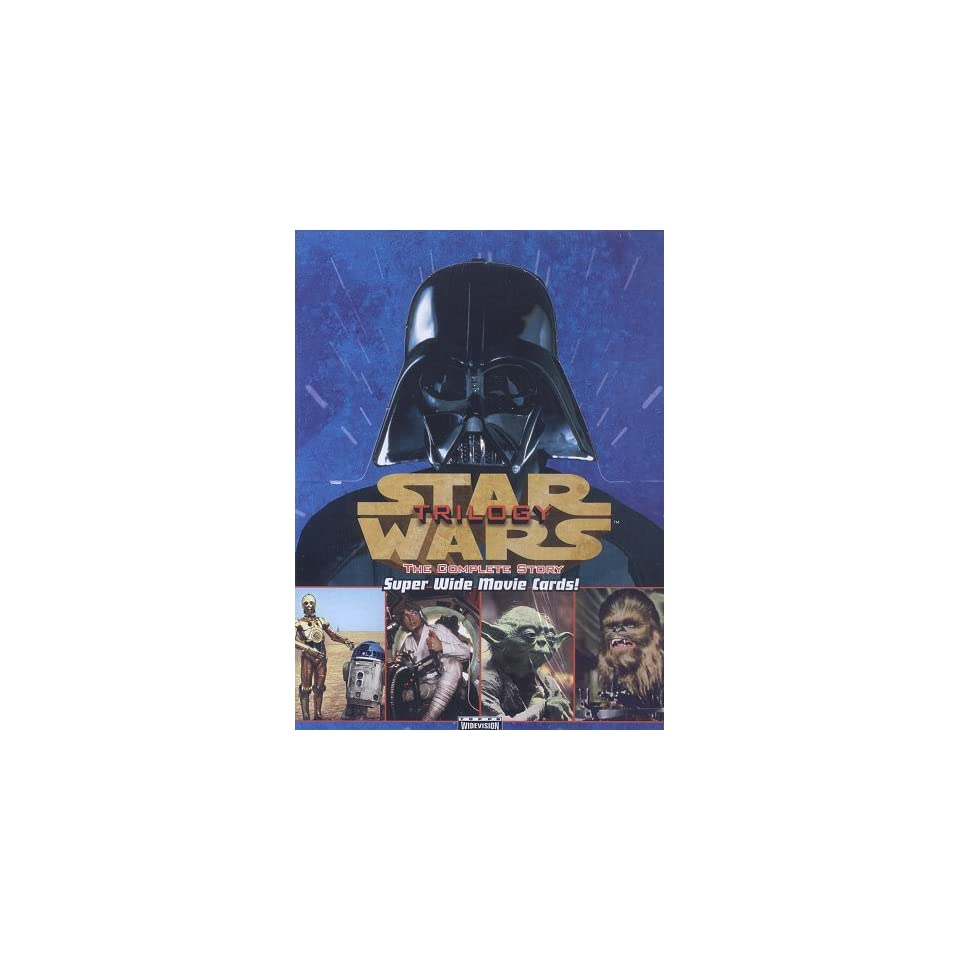 1997 Topps Star Wars Trilogy Widevision Trading Card Box  Toys