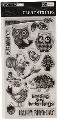 Hampton Art Patchwork Pals Rubber Stamp