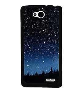 Starry Night 2D Hard Polycarbonate Designer Back Case Cover for LG L90