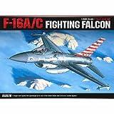 [Academy] Plastic Model Kit 1/48 SCALE F-16A/C FIGHTING FALCON (#12259A) /item# G4W8B-48Q59249