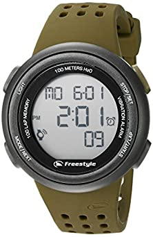 buy Freestyle Unisex 10019177 Fx Trainer Digital Display Japanese Quartz Brown Watch