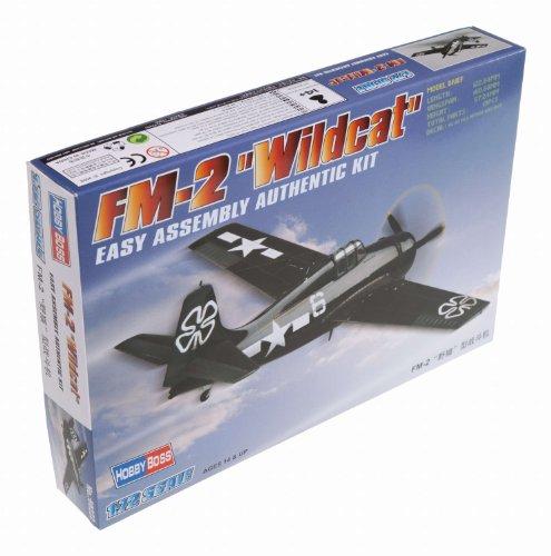 Hobby Boss HY80222 FM-2 Wildcat Airplane Model Building Kit