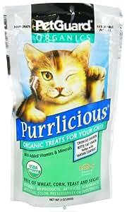 PetGuard PetGuard Purrlicious Organic Cat Treats - 3oz