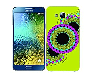 Galaxy Printed 2366 Mehndi Whelr Hard Cover for Samsung CORE PLUS