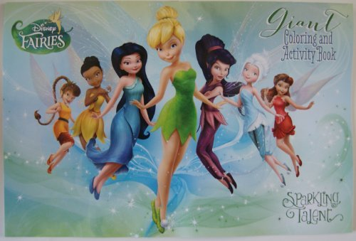 Disney Fairies Giant Coloring and Activity Book - 1