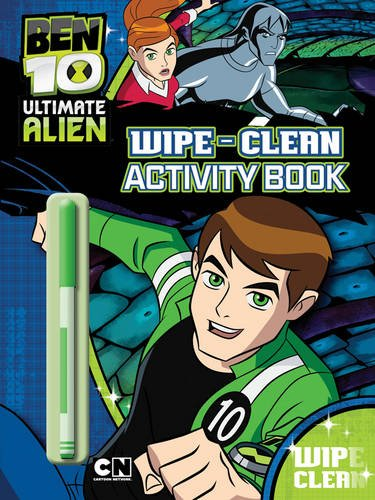 Ben 10 Alien Force: Wipe-clean Activity Book