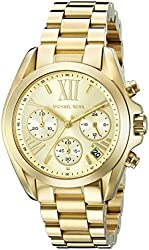 Michael Kors Women's MK5798 Bradshaw Gold-Tone Stainless Steel Watch