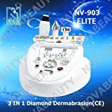 MULTI-FUNCTION 3 IN 1 NOVA NEWFACE BEAUTY MACHINE: DIAMOND MICRODERMABRASION + ULTRASOUND +SKIN SCRUBBER