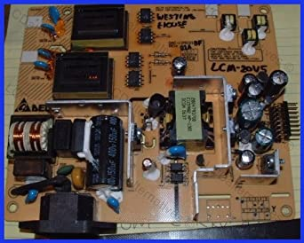Repair Kit, Westinghouse LCM-20V5, LCD Monitor, Capacitors, Not the Entire Board