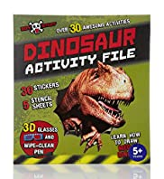 Boys Stuff Dinosaur Activity File