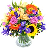 The Fantastic 'Summer Memories' Bouquet - Fresh Flowers with free Delivery