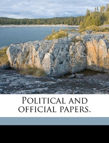 Political and official papers.