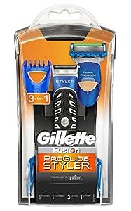 gillette fusion proglide styler 3 in 1 men 39 s body groomer. Black Bedroom Furniture Sets. Home Design Ideas