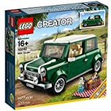 LEGO Creator Mini Cooper Mk VII Set In Iconic Classic Green & White With Removeable Roof & Other Accessories