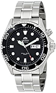 Orient Men's EM65008B Ray Automatic Stainless Steel Watch