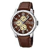 Festina Men's Quartz Watch Sport Multifunktion F16585/B with Leather Strap