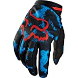 Fox Racing Dirtpaw Youth Girls MX Motorcycle Gloves - Blue/Red / X-Small