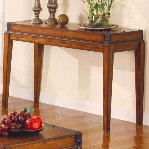 Cheap Medium Wood Rectangular Sofa Console Table by Coaster (B0040V9JXY)