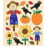 K&Company 452243 Sticker Medley-Scarecrow
