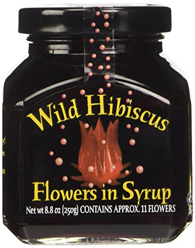 Wild Hibiscus in Syrup 11 fiori, 1er Pack (1 x 250 g)