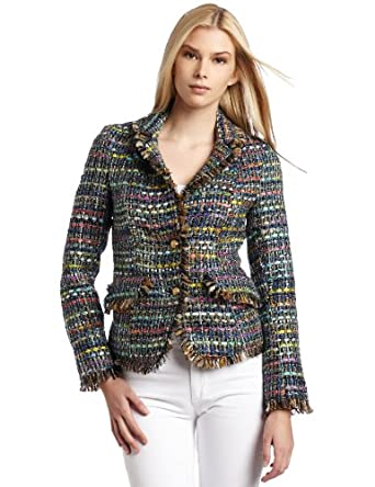 WHAT GOES AROUND COMES AROUND Women's Bennet Jacket, Multi, Large
