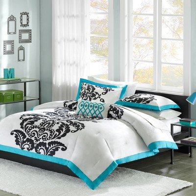 Eiffel Tower Bedding Twin 9602 front