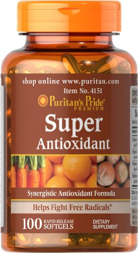 Puritan's Pride Super Antioxidant Formula-100