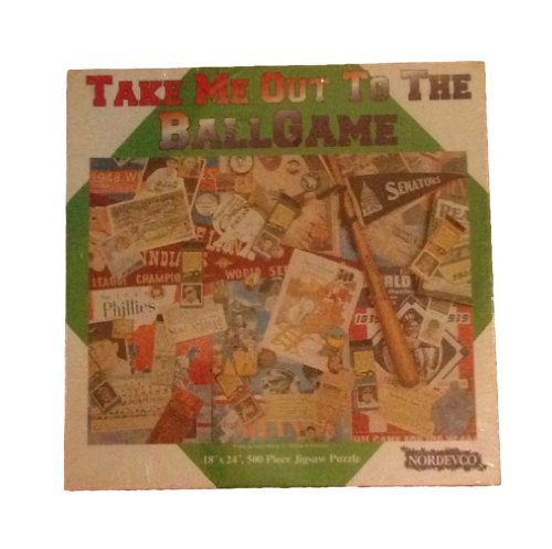 Nordevco Take Me Out to the Ball Game Puzzle