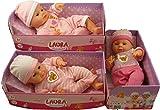 38cm Simba Laura Sonnenschein Puppe mit Stoffkörper + Rosa Outfit Alter 1+ [Spielzeug]