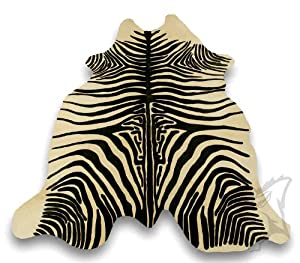 zebrafell kuhfell teppich zebra 1050 k che haushalt. Black Bedroom Furniture Sets. Home Design Ideas