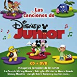 Las Canciones de Disney Junior + DVD